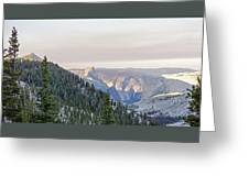 Yosemite Sunrise Greeting Card
