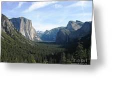 Yosemite Valley 1 Greeting Card