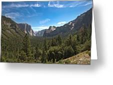 Yosemite Valley 3 Greeting Card