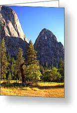Yosemite Valley Pinnacle - California Greeting Card