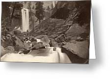 Yosemite: Vernal Fall Greeting Card