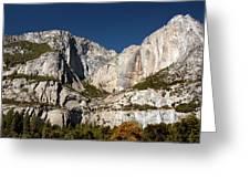 Yosemite View Greeting Card