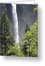 Yosemite Waterfall 2 Greeting Card