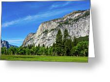 Yosemite West Valley Greeting Card