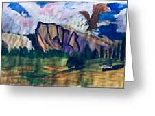 Yosemite Wildlife Greeting Card