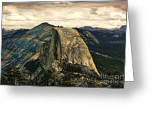 Yosemite X Greeting Card