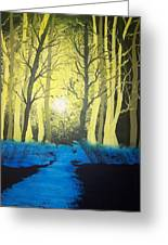 You Cant See The Forest For The Trees Greeting Card