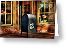You Got Mail Greeting Card by Todd Hostetter