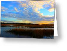 You Paint The Morning Sky Greeting Card