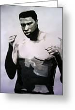 Young Ali Greeting Card