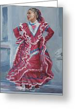 Young Dancer At Arneson Theater Greeting Card