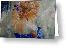 Young Girl  78 Greeting Card