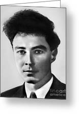 Young Robert Oppenheimer Greeting Card
