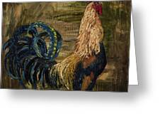 Young Rooster Greeting Card