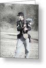 Young Soldier II Greeting Card