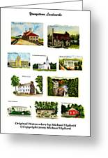 Youngstown Landmarks Montage 2 Greeting Card