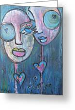 Your Haunted Heart And Me Greeting Card