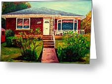 Your Home Commission Me Greeting Card