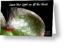 Your Light Greeting Card