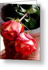 Your Love On Fire Greeting Card
