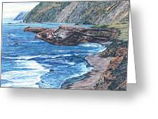 Youthful Wonder - Where Waters Meet Earth Greeting Card