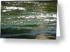 Yuba River Reflections Greeting Card