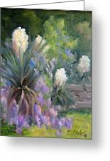 Yucca And Wisteria Greeting Card