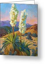 Yuccas Greeting Card