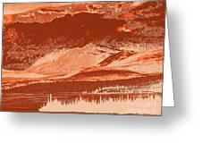 Yukon Mountain Range 5 Greeting Card
