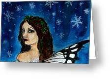 Yuletide Fairy Greeting Card