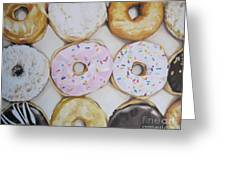 Yummy Donuts Greeting Card