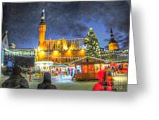 Yury Bashkin Tallinn New Year Greeting Card