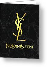 Yves Saint Laurent Ysl Black And Gold Lifestyle And