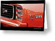 Z28 Greeting Card