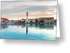 Zaante Town, Zakinthos Greeting Card
