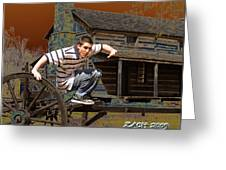 Zach  Greeting Card