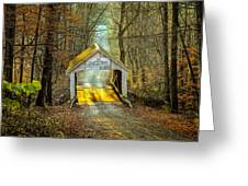 Zacke Cox Covered Bridge Greeting Card