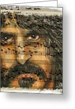 Zappa The Walz  Greeting Card