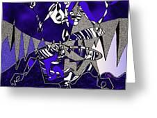 Zazen Jazz Greeting Card