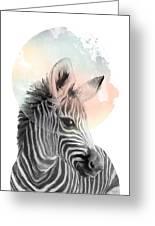 Zebra // Dreaming Greeting Card
