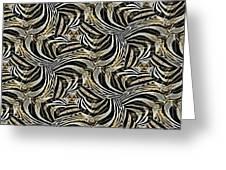 Zebra Vii Greeting Card