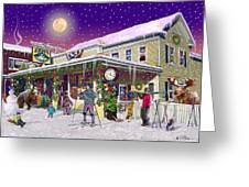 Zebs General Store In North Conway New Hampshire Greeting Card