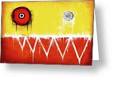 Zeeko Abstract #104 Greeting Card