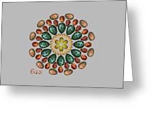 Zeerkl Of Eggs Greeting Card