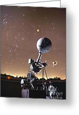 Zeiss Planetarium Projector Greeting Card