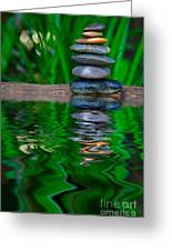 Zen Art And Reflections By Kaye Menner Greeting Card