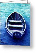 Zen Boat Greeting Card