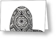 Zen Egg Greeting Card