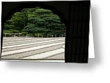 Zen Lines Greeting Card