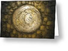 Zen Moon Greeting Card